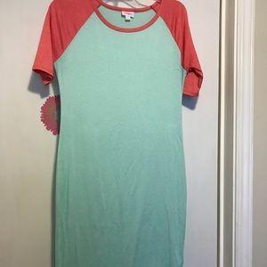 Lularoe Julia Dress Small